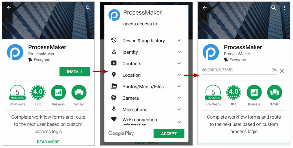 ProcessMaker Mobile for Android | Documentation@ProcessMaker