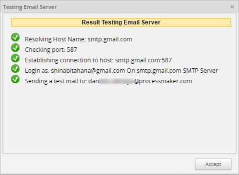 3 0 - 3 1 - Email Settings | Documentation@ProcessMaker
