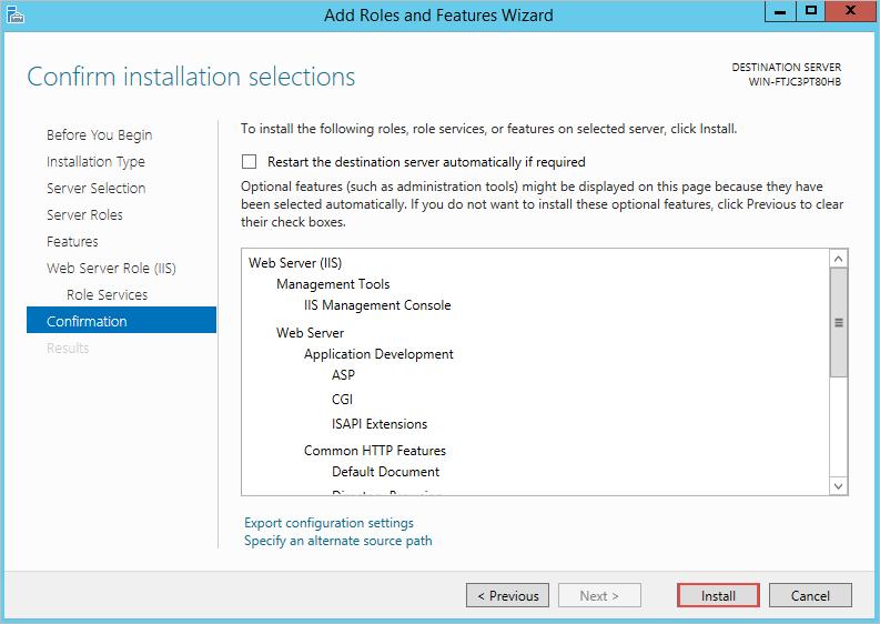 3 0 - Install ProcessMaker in IIS   Documentation@ProcessMaker