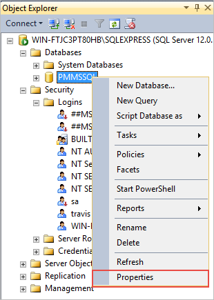 3 3 - Database Connections - Microsoft SQL Server