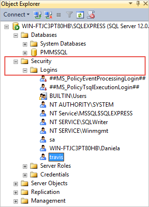 attach ssms with mongodb database