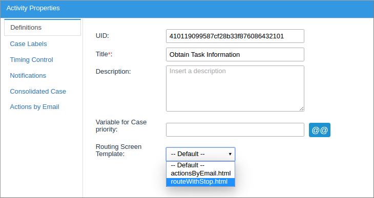 3.0 - Templates   Documentation@ProcessMaker