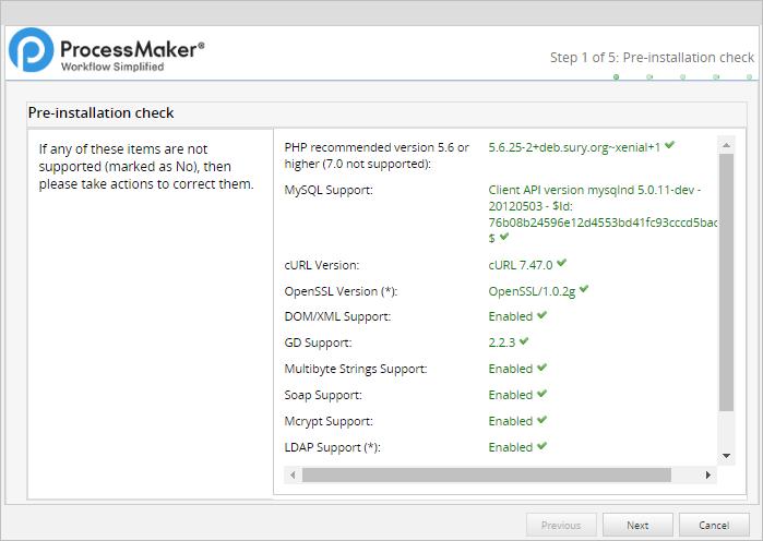 3 3 - Install ProcessMaker in Ubuntu 18 04 | Documentation