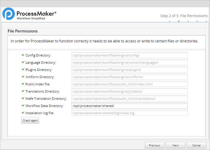3 1 - 3 3 - Install ProcessMaker in CentOS/RHEL | Documentation