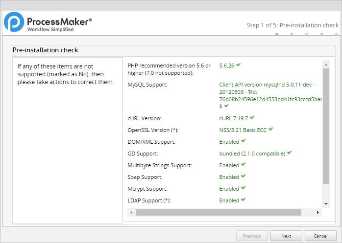 3 1 - 3 3 - Install ProcessMaker in CentOS/RHEL
