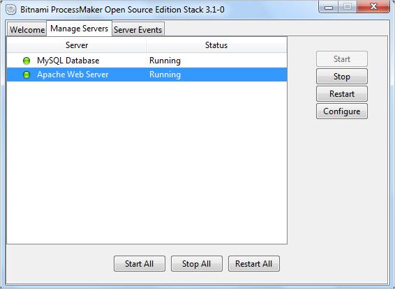 3 1 - ProcessMaker Bitnami Installer | Documentation@ProcessMaker