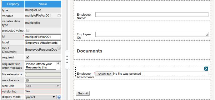 3 2 - 3 3 - Multiple File Uploader | Documentation@ProcessMaker