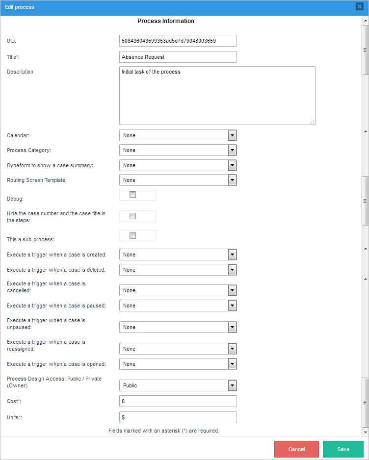 3 2 - 3 3 - Processes | Documentation@ProcessMaker