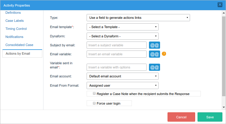 32 Actions By Email Documentation At Processmaker