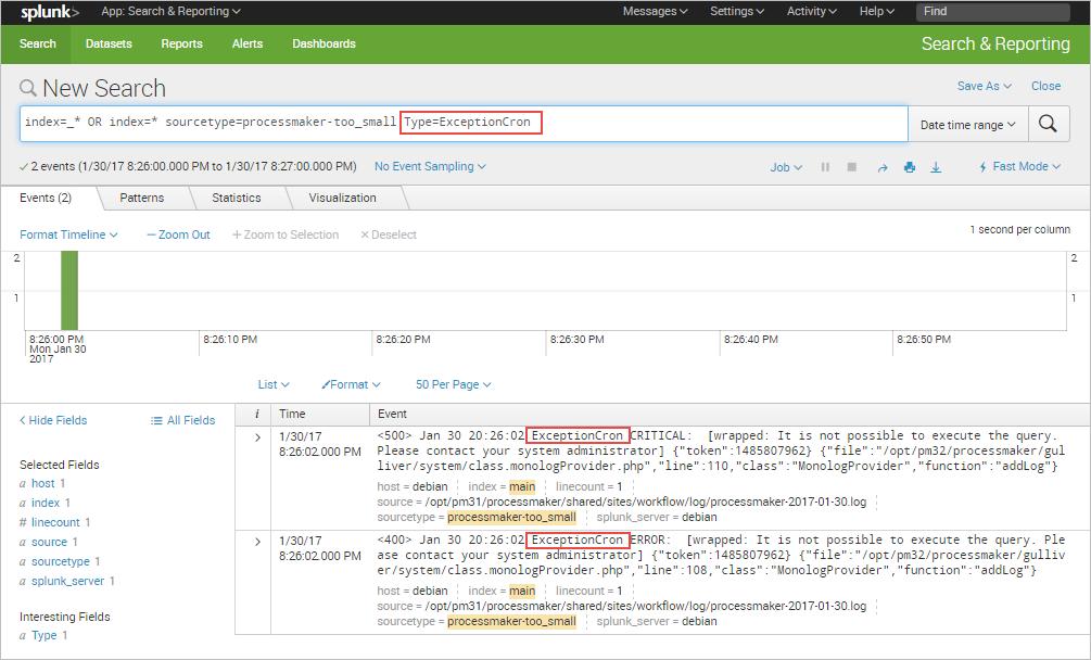 3 3 - ProcessMaker Standard Logging | Documentation@ProcessMaker