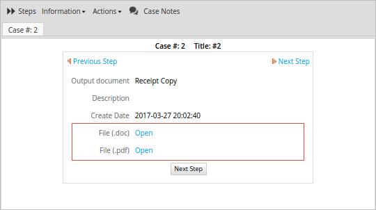 3 2 - Output Documents | Documentation@ProcessMaker
