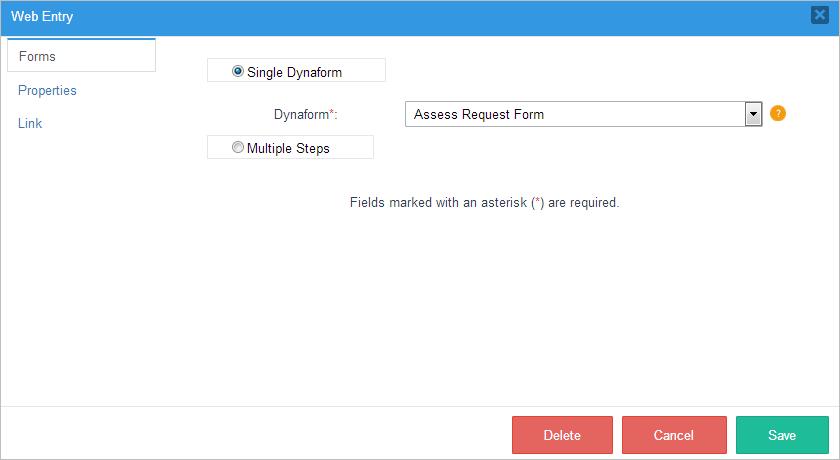 3 2 - 3 3 - Web Entry | Documentation@ProcessMaker