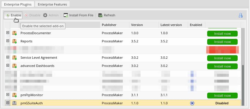 3 3 - Google Authentication | Documentation@ProcessMaker