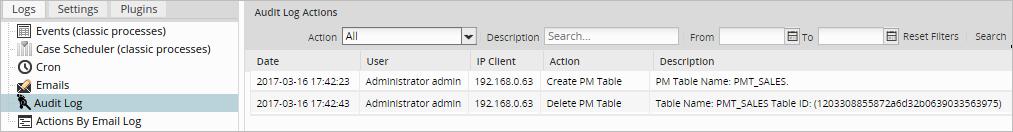 3 3 - Logs   Documentation@ProcessMaker