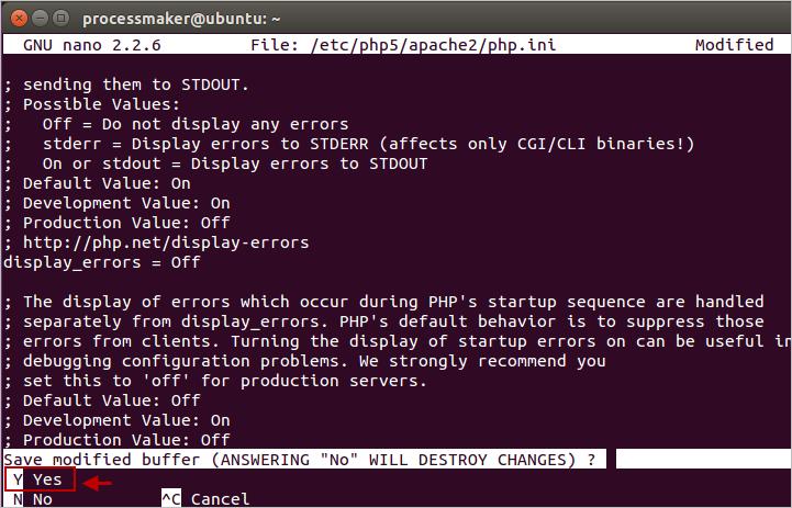 3 0 - Install ProcessMaker in Ubuntu | Documentation