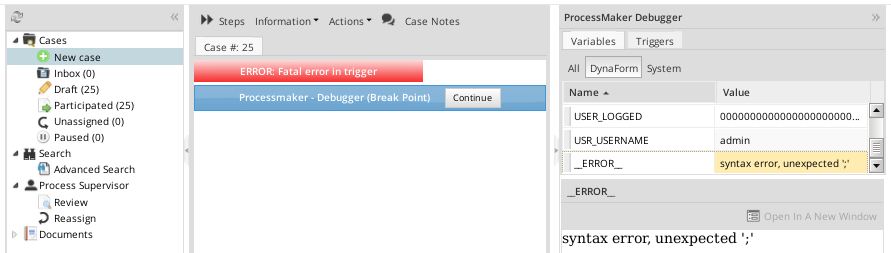 3.0 - PHP in Triggers | Documentation@ProcessMaker