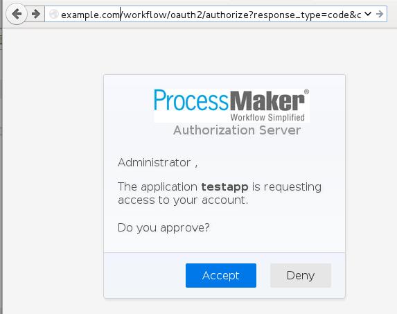 OAuth 2 0 | Documentation@ProcessMaker