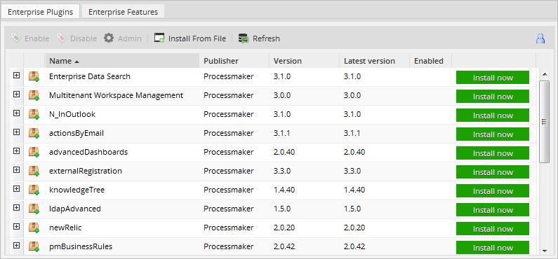 3 2 - 3 3 - Enterprise Manager Tool   Documentation@ProcessMaker