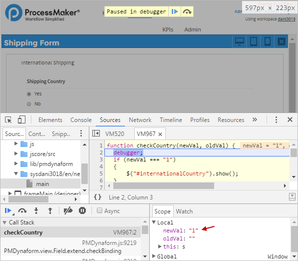 3 0 - JavaScript in Dynaforms   Documentation@ProcessMaker