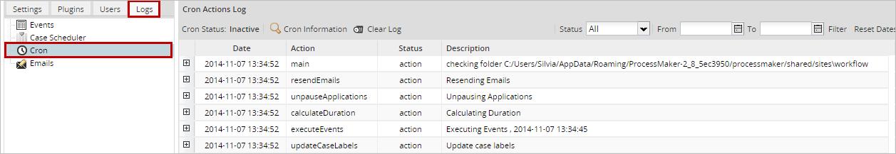 3 0 - Executing Cron Scripts   Documentation@ProcessMaker