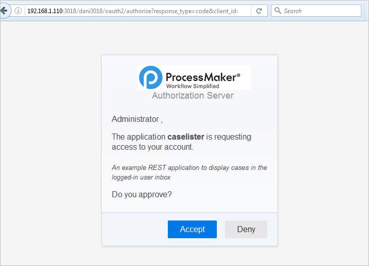 3 3 - OAuth 2 0 | Documentation@ProcessMaker