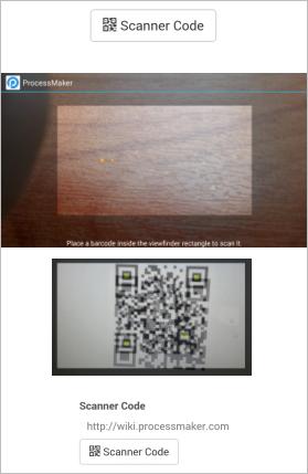 Mobile - QR Code Scanner | Documentation@ProcessMaker