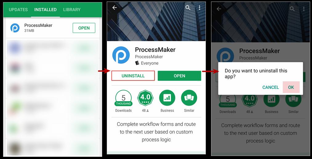 ProcessMaker Mobile for Android | Documentation@ProcessMaker