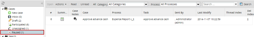3 0 - ProcessMaker Cases | Documentation@ProcessMaker