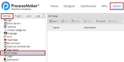 3 0 - PM Tables | Documentation@ProcessMaker