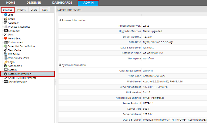 Login Settings | Documentation@ProcessMaker