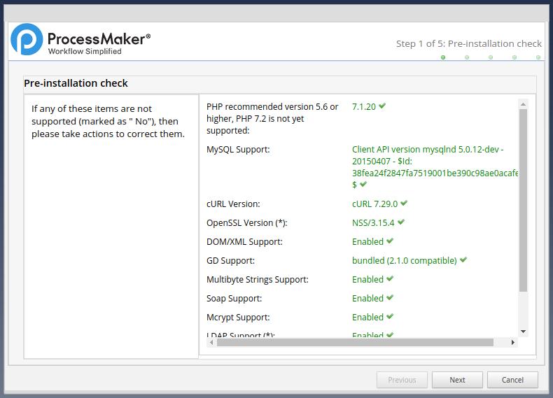 3 0 - 3 3 - Install ProcessMaker in Windows | Documentation