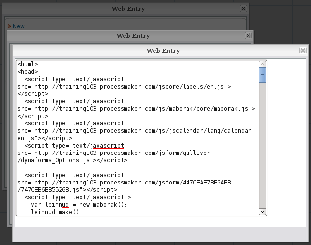 2 0 - Web Entry | Documentation@ProcessMaker